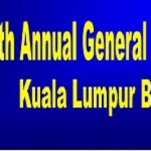 26th Annual General Meeting of the Kuala Lumpur Bar