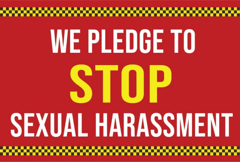 Sexual Harassment Awareness Campaign | Pledge Form