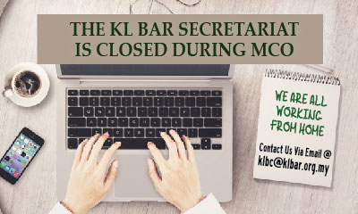 Temporary Closure of the KL Bar Secretariat