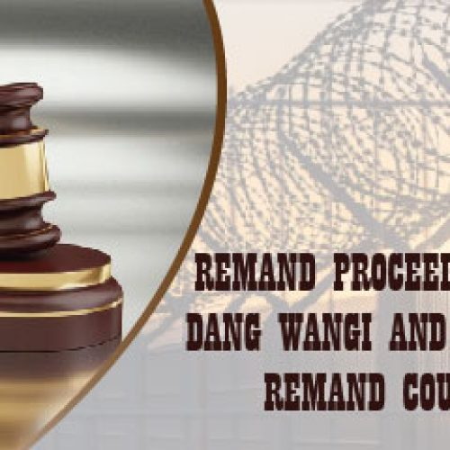 Remand Proceedings At Jinjang Remand Court On 12 June 2021 To Commence At 9:30am