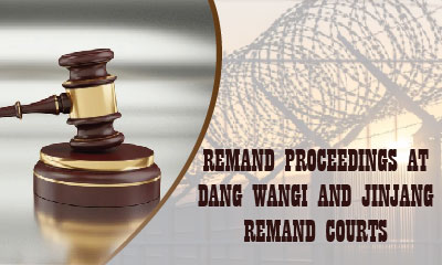 Remand proceedings