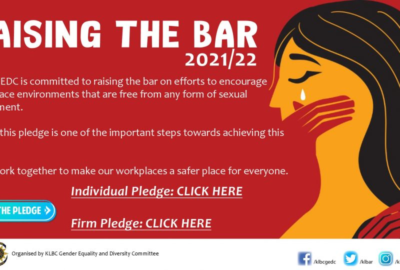 Sexual Harassment Awareness Month   November 2021 Raising The Bar 2021/22